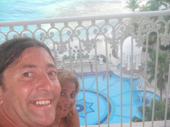 Hotel Riu Palace Riviera Maya: desde el balcon la habitacion