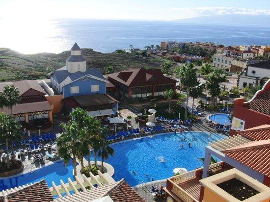 Sunlight Bahia Principe Costa Adeje: Fra vores værelse