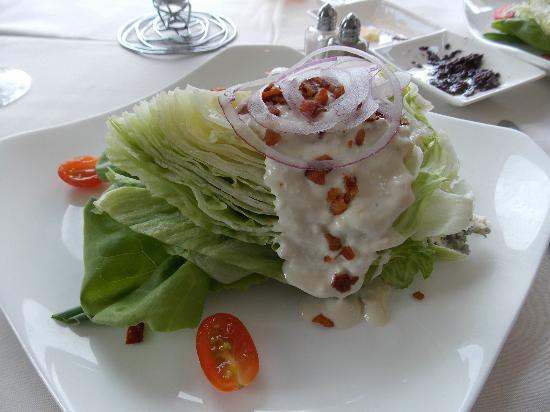 M Waterfront Grille: Delicious Wedge Salad