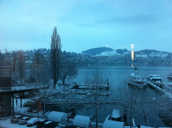 Radisson Blu Hotel, Lucerne : View Junior Suite