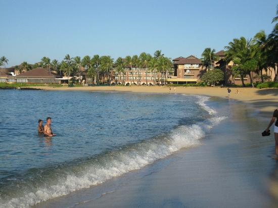 Kiahuna Plantation Resort: Beach area