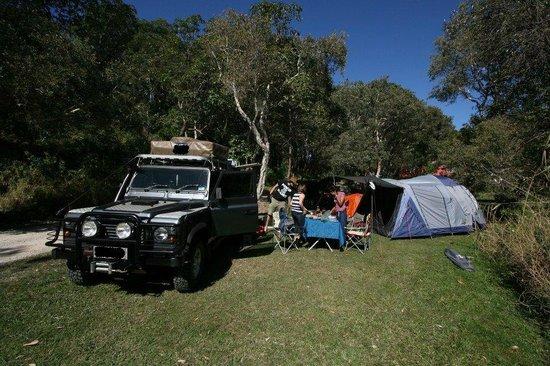 Straddie Camping: camping