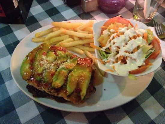 Pasha's : Chicken stack