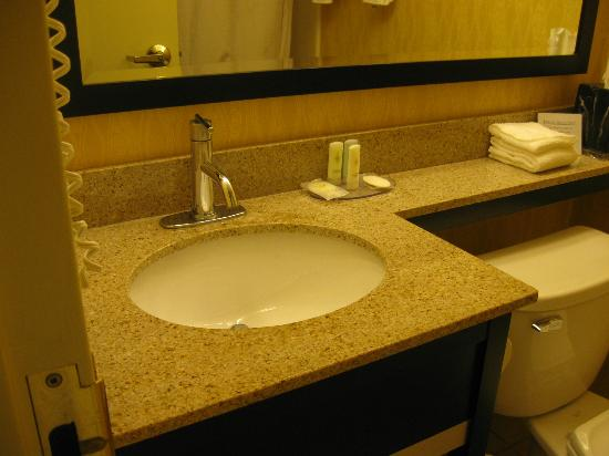 Comfort Inn Harrisburg: The sink in the bathroom