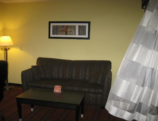 Comfort Inn Harrisburg: The other room to our suit.