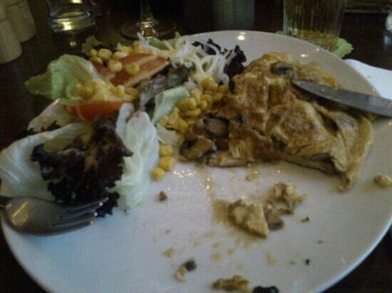 't Eetablissement : Mushroom omelette