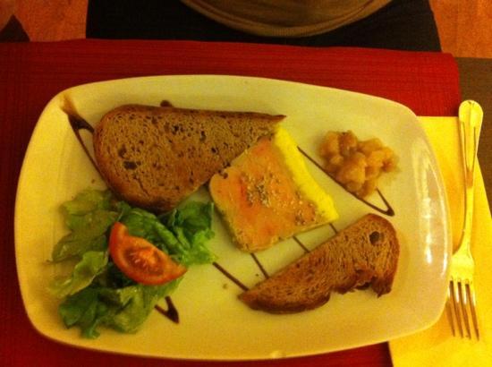 Le tir bouchon : foie gras