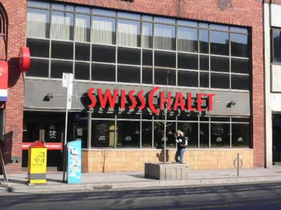 Swiss Chalet Rotisserie And Grill Toronto Downtown West
