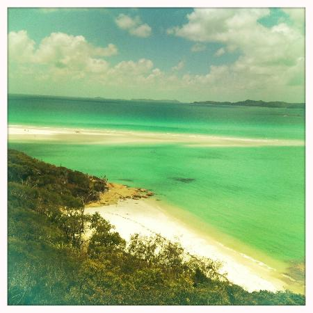 Sand bar beach at Hill Inlet