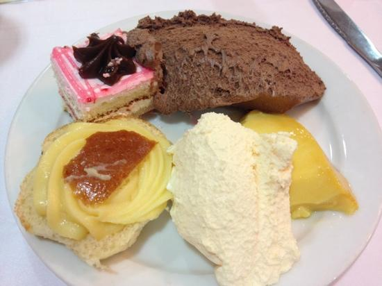 H·TOP Calella Palace & Spa : selection of deserts