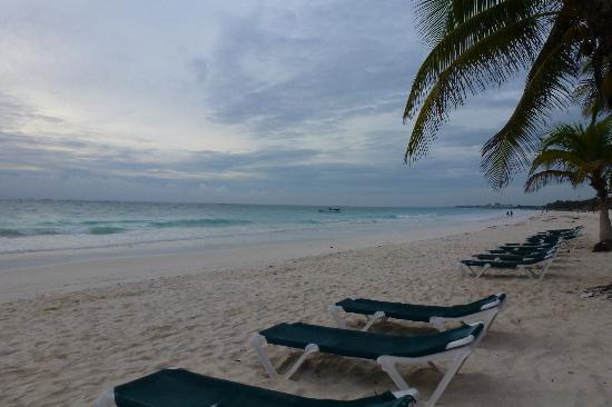 El Paraiso Tulum: vista desde la playa del hotel