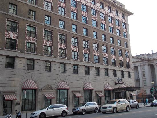 W Washington DC: Fachada del hotel