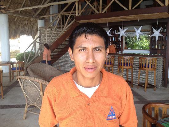 La Lancha Lodge: Guillermo, excelente servicio !!