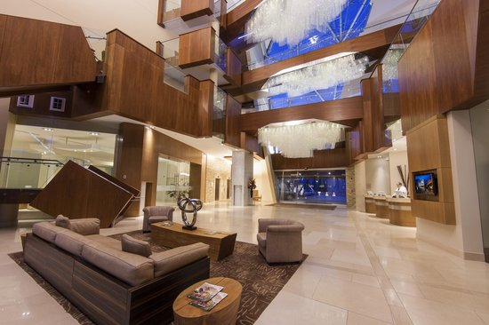 Sparkling Hill Resort Lobby