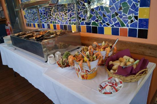 Cape Gloucester Eco-Resort: Staff function lunch