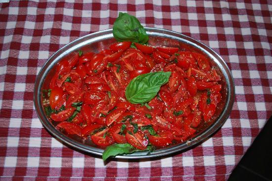Hosteria Napoletana: Pomodorini all'Insalata