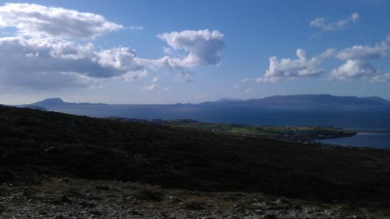 Croagh Patrick: View from the top