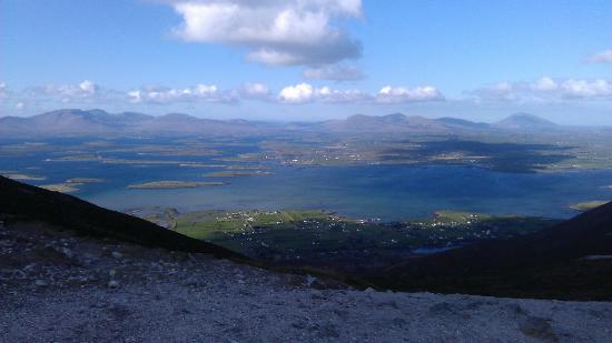 Croagh Patrick: View