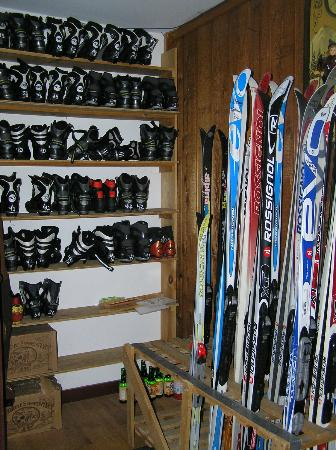 Sleepy Hollow Inn: Ski touring equipment for rent