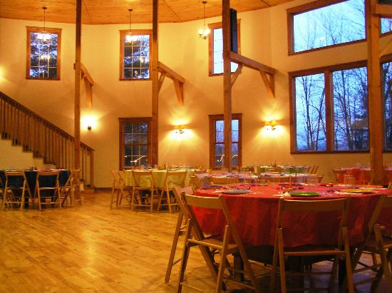 Sleepy Hollow Inn: Inside of Round Barn
