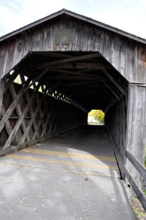 Cedarburg, WI: inside the sturdy bridge