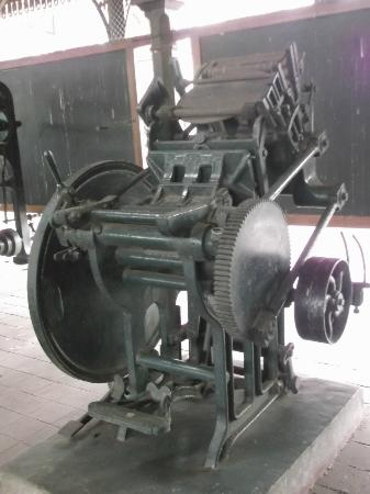 Old Town Hall : Old Machinery