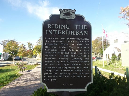 Ozaukee Interurban Trail: a little information about the trail
