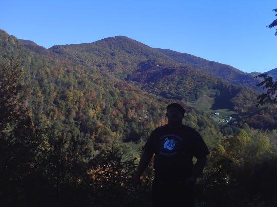 North Carolina Mountains, NC: Hubbie and Blue Ridge scenery