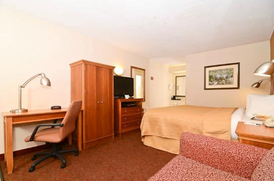 Quality Inn Chapel Hill: King Bedroom