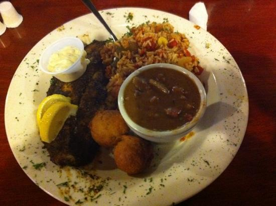 Buzzard Billy's: blacken catfish