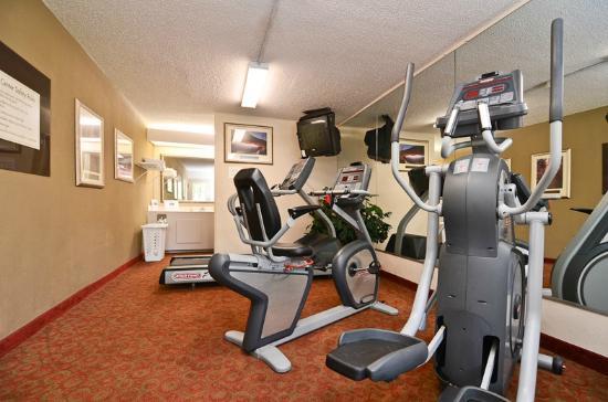 Quality Inn Chapel Hill: Exercise Room