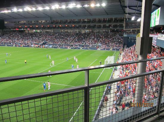 Budweiser Deck Picture Of Sporting Park Kansas City