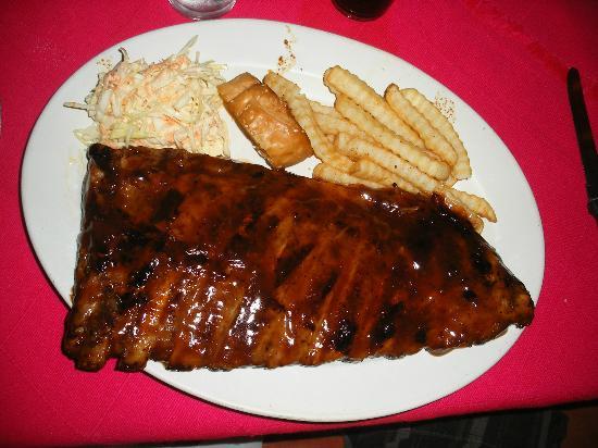 Los Zarapes: Rack of ribs