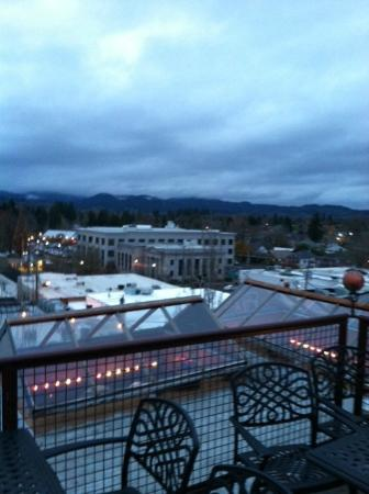 McMenamins Hotel Oregon: View from roof top bar