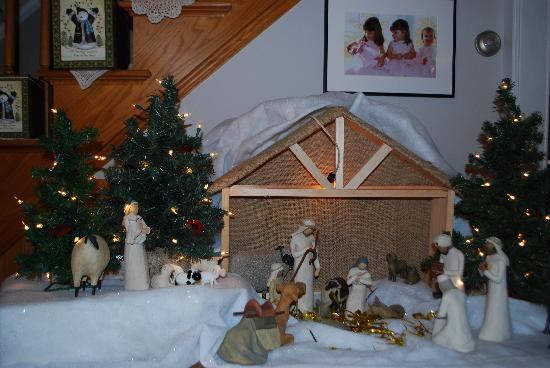 Parent Farmhouse B&B : Remermer the true meaning of Christmas