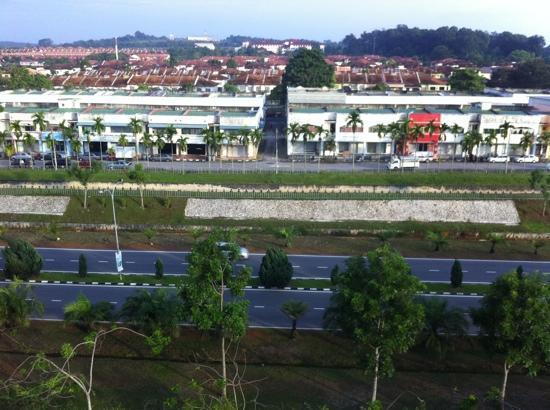 MITC Ancasa Hotel Melaka: A view from a room