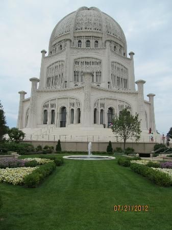Baha'i House of Worship: Temple and gardens