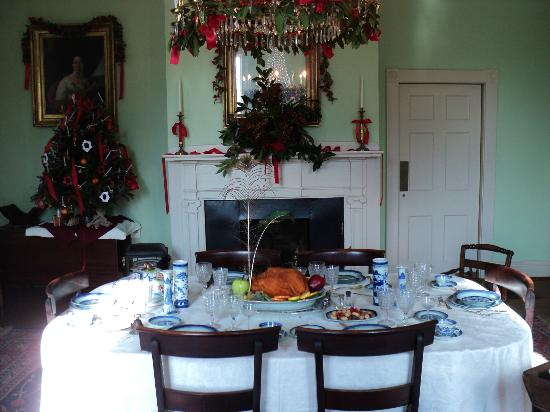 Mordecai Historic Park: Dining Room