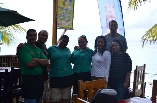 Bananarama Beach and Dive Resort: Great Staff