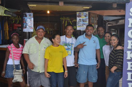 Bananarama Beach and Dive Resort: Staff makes you feel at home