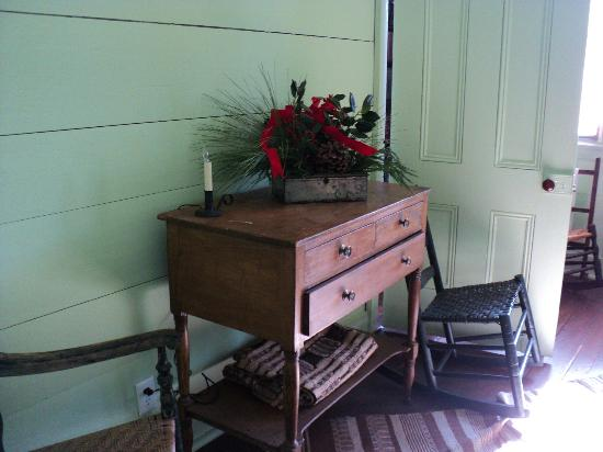 Mordecai Historic Park: Sleeping Room