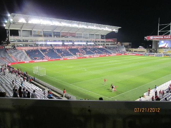 Toyota Park (Bridgeview Stadium): Overview of inside