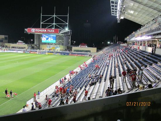 Toyota Park (Bridgeview Stadium): After the game, inside