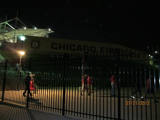 Toyota Park (Bridgeview Stadium): After the game, leaving