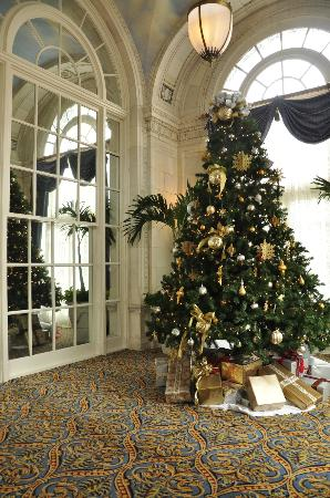 Hermitage Hotel: Second Christmas tree upstairs