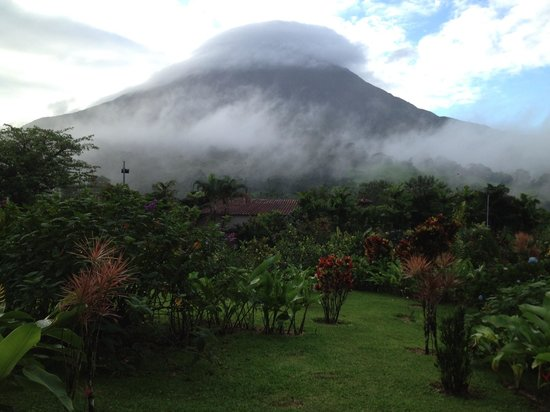 Arenal Kioro: This was the view from my room!