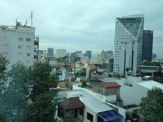 Signature Saigon Hotel: View.