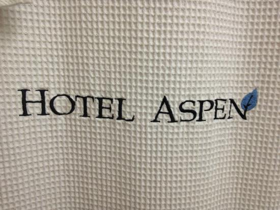 Hotel Aspen: Embroidered/Monogrammed Shower Curtain