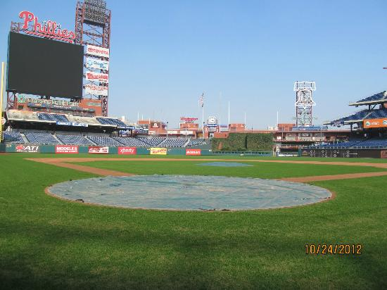 On The Field Behind Home Plate Picture Of Citizens Bank Park