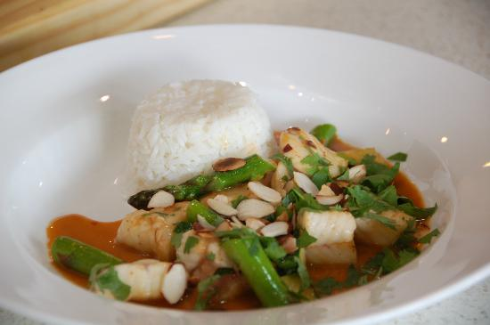 The Akaroa Cooking School : One of the dishes from the Day in Thailand
